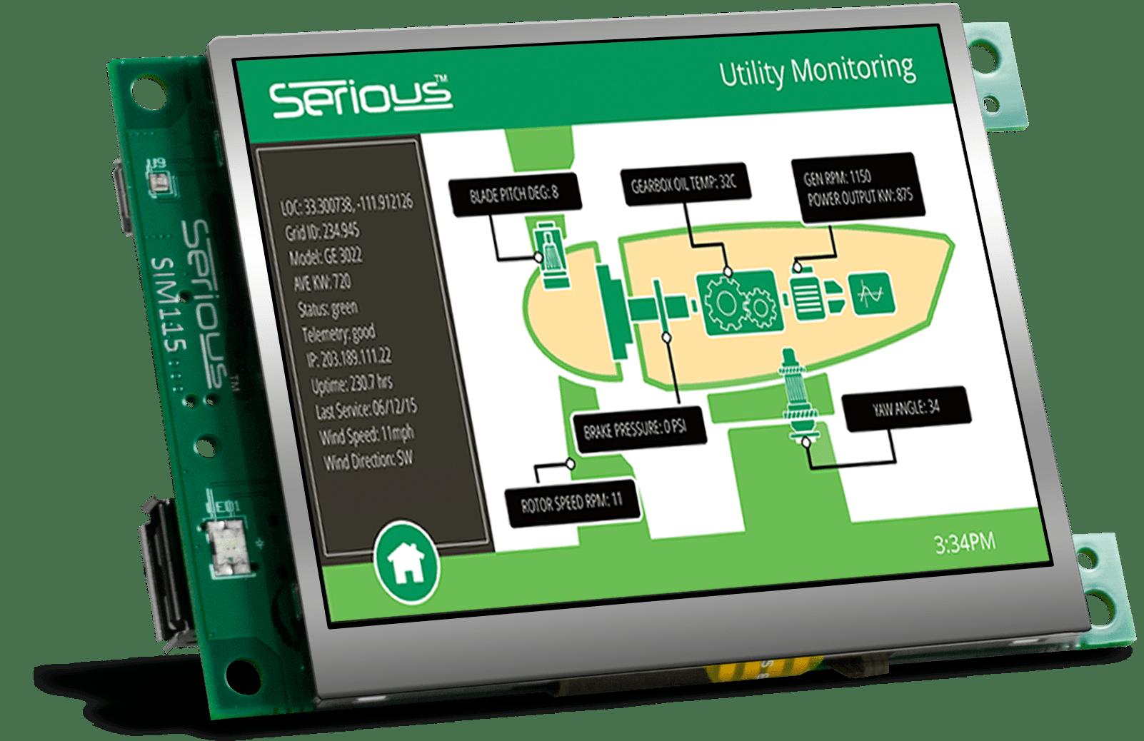 SIM115 Resistive (front left)