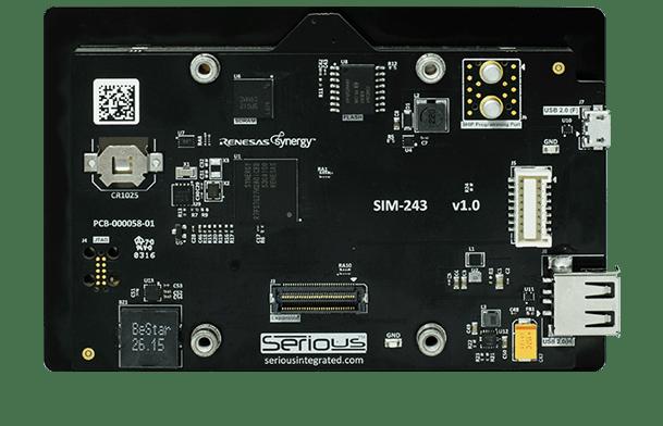 SIM243 Capacitive (back)