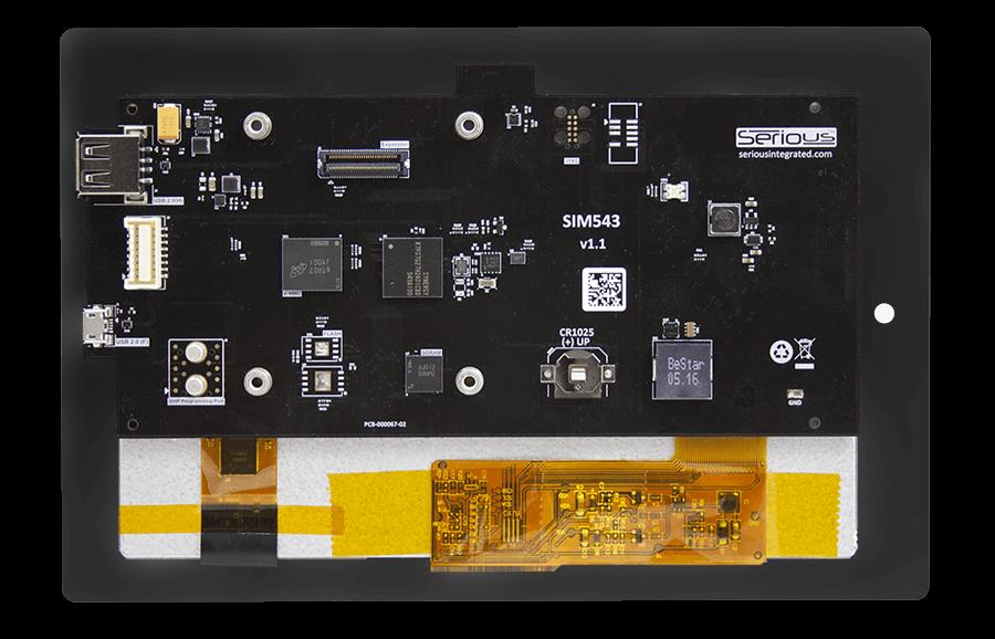 SIM543 Capacitive (back)